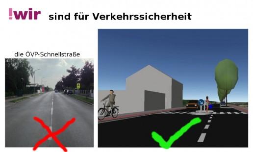 !wir sind für Verkehrssicherheit